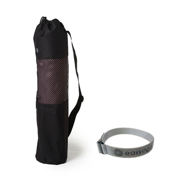 easyoga 瑜珈墊 專業花草瑜珈墊 6mm (附收納束繩&背袋) - 淺紫