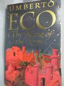 【書寶二手書T2/原文小說_HIM】The Name of the Rose_Umberto Eco