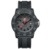 LUMINOX 雷明時Black Ops 8880黑夜行動系列腕錶-灰x黑時標/45mm A8882