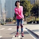 直排輪 溜冰鞋成人成年旱冰直排輪滑冰鞋兒童全套裝大學生初學者男女專業【快速出貨八折搶購】
