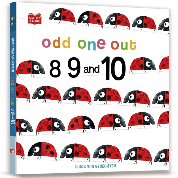 【Listen & Learn Series】Odd One Out. 8, 9 and 10(附美籍教師朗讀音檔)