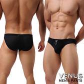 情趣用品 調情內褲情趣內褲男同志 VENUS 透氣網孔 男士內褲性感三角褲 黑