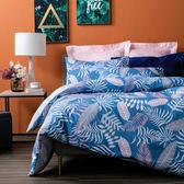 HOLA 朝熙純棉床包兩用被組 雙人