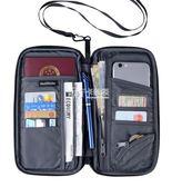 護照包 多功能證件包護照包旅游收納防水卡包錢包旅行機票夾保護套 卡菲婭