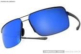 Porsche Design太陽眼鏡 PO8615 A (黑-灰) 率性奢華時尚水銀鏡面款 # 金橘眼鏡