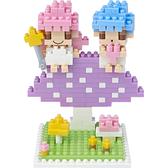 【Tico微型積木】雙子星 蘑菇篇 T-4107