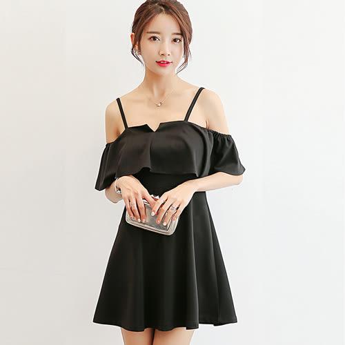 韓版時尚顯瘦氣質修身百搭休閒連衣裙 0016H 彼得麗絲