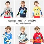 男童長袖T恤純棉打底衫秋裝童裝秋衣兒童寶寶上衣小童【淘嘟嘟】