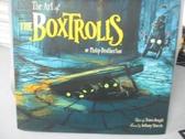 【書寶二手書T8/影視_XBZ】The Art of the Boxtrolls_Brotherton, Phil/ K