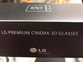 全新品出清 LG 3D眼鏡 AG-F270 Cinema 3D眼鏡 Alan Mikli設計