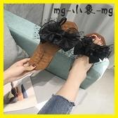 MG 外穿拖鞋-拖鞋韓版一字型蝴蝶結流蘇軟底百搭外穿時尚耐磨鞋
