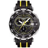 TISSOT 天梭 T-Race THOMAS LUTHI 限量計時手錶-45mm T0924172706700
