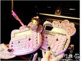 計算機可愛鑲鑽水晶有聲計算器可愛語音大號韓版  歐韓流行館
