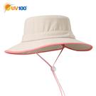 UV100 防曬 抗UV-透氣速乾撞色休閒帽-童