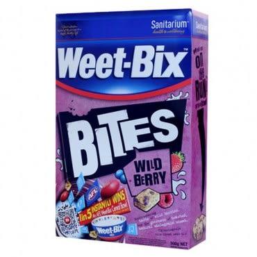 Weet-Bix 12入促販-澳洲全穀片MINI系列 野莓12入