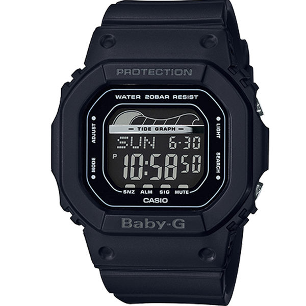 CASIO卡西歐BABY-G夏季衝浪運動腕錶  BLX-560-1 黑