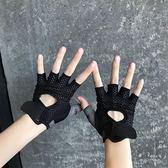 健身鍛煉單車騎行防滑運動薄款手套