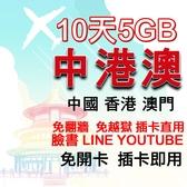 中國網卡 香港網卡 澳門網卡 免翻牆可上臉書/line/IG 插卡即用 聯通訊號 中港澳通用4G網卡