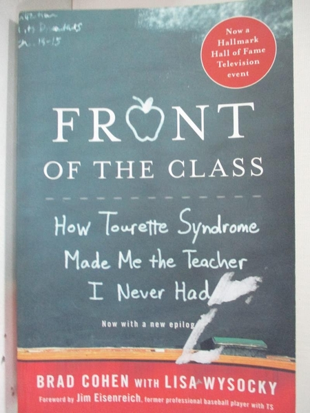 【書寶二手書T1/大學教育_DAH】Front of the Class: How Tourette Syndrome Made…