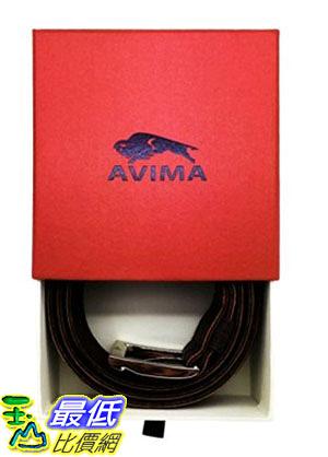 [105美國直購] Leather Belt, 男士皮帶 AVIMA® #1 Men s Casual Dress Genuine Leather Handcrafted Belt