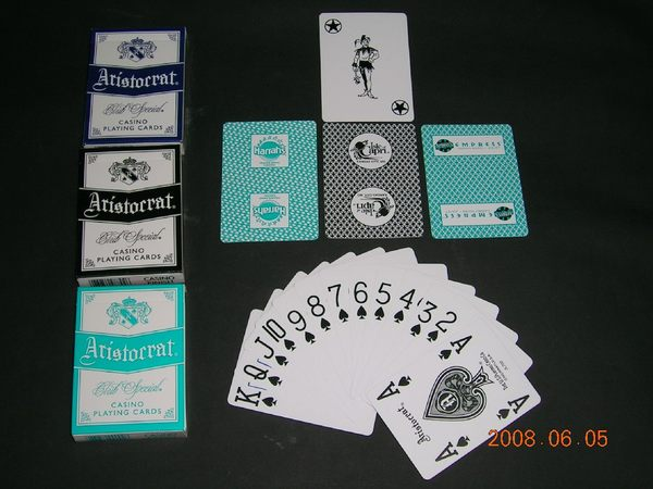 【USPCC撲克館】Argosy s empress ARISTO 撲克牌