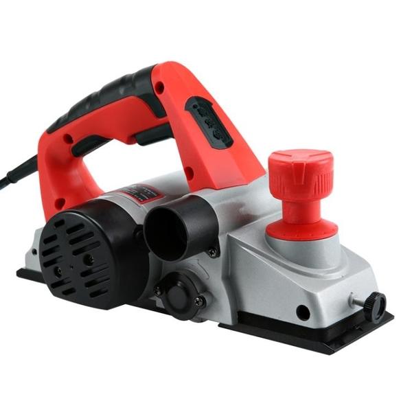 金誠泰電刨家用小型多功能手提台式木工刨木工工具電動刨子壓刨機CY潮流