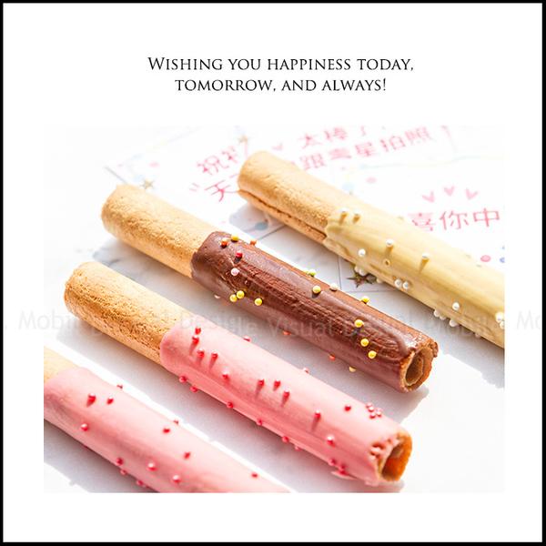 生日遊戲點心 幸運籤語蛋捲(可指定中獎數)-3口味隨機出貨 限低溫宅配 生日分享 活動 幸運籤餅