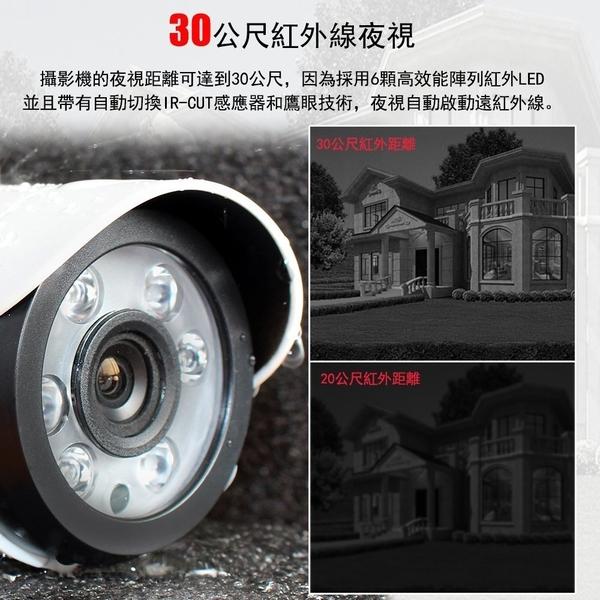免運Saqicam监控套餐 8路1080N AHD 錄影主機DVR 720P*2監控攝影機 安全監視器
