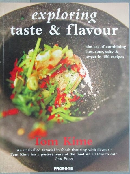 【書寶二手書T3/餐飲_FAL】Exploring Taste & Flavour_Tom Kime