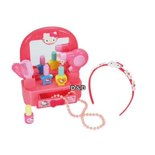 《 HELLO KITTY 凱蒂貓 》可愛化妝台組╭★ JOYBUS玩具百貨