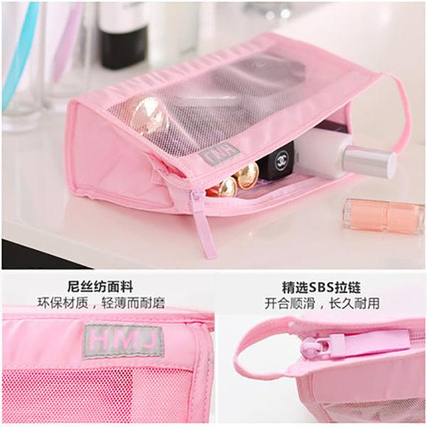 隨身防水洗漱包化妝包透明小號旅行便攜化妝袋迷妳韓國小淑女簡約 生日禮物 創意