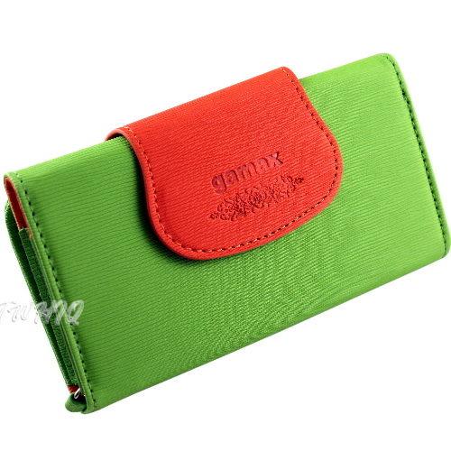 gamax 撞色系列 手機皮套 HTC EVO Design ◆贈送!Nappa 頭層皮(真皮) 抽拉式 手機套◆
