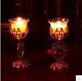 婚房臥室布置裝飾喜慶蠟燭YY1276『夢幻家居』