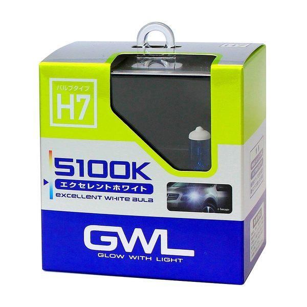 日本 MIRAREED GWL 5100K超白光燈泡H7