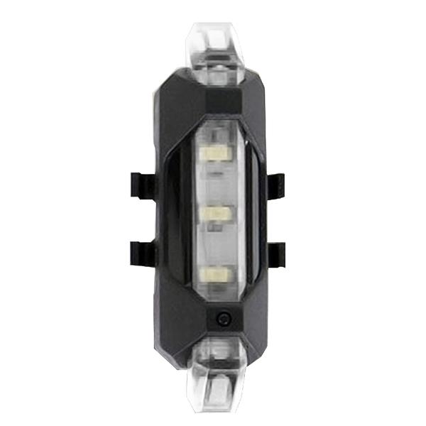 「指定超商299免運」自行車LED燈警示燈 夜間騎行裝備 單車 USB充電 登山車配件【H005】