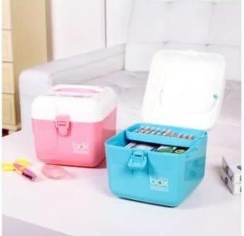 預購-家庭家用多層藥品收納箱 寶寶醫藥箱 小號雜物收納盒