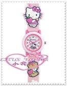 ♥小花花日本精品♥ Hello Kitty 手錶 卡通錶女錶卡通錶帶生日禮盒禮物 粉色站姿小熊99923105