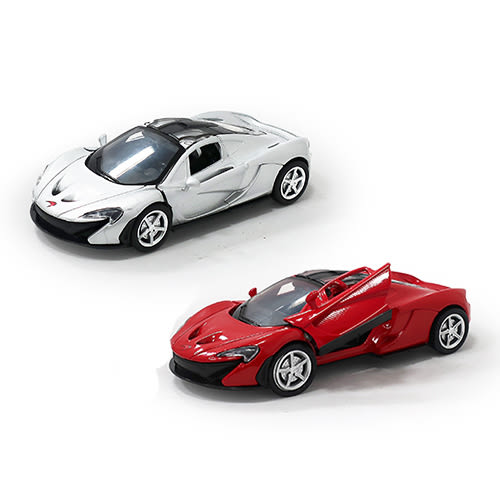 TJ-3969 超跑大集合-麥拉倫P1 / 兩色 /1台 正版授權 迴力車 模型車 (1:32) 【楚崴玩具】