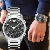 EMPORIO ARMANI 亞曼尼 高尚品味時尚精品錶 AR11083