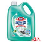 魔術靈廚房清潔劑量販瓶裝-萊姆香3800ml*3入(箱)【愛買】