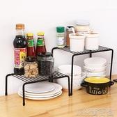 廚房分層鐵藝廚房置物架櫥柜碗碟架 廚具瀝水收納架家用調味品架 快速出貨
