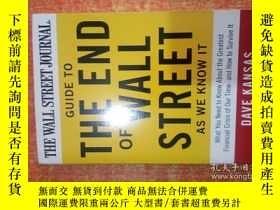 二手書博民逛書店GUIDE罕見TO THE END OF WALL STREET AS WE KNOW ITY27111