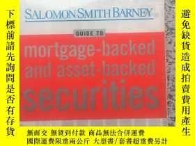二手書博民逛書店Salomon罕見Smith Barney Guide to M