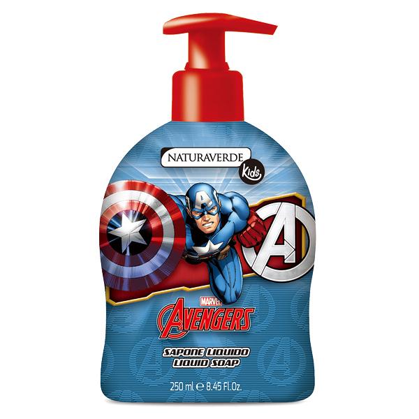 Avengers潔膚露250ml-Captain America