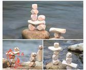 積木木制疊石頭成人兒童寶寶疊疊樂玩具【奈良優品】
