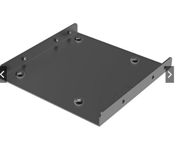 2.5 轉 3.5 轉接鐵架 (附螺絲) 支援2.5吋硬碟 支援2.5吋SSD 2.5吋轉3.5 固定硬碟支架 鐵製 鐵架