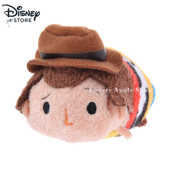 (現貨)日本 DISNEY STORE 迪士尼商店 玩具總動員 胡迪 茲姆茲姆 TSUM TSUM 小玩偶娃娃