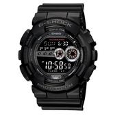 CASIO G-SHOCK 強悍菱格壓紋造型錶(GD-100-1B)