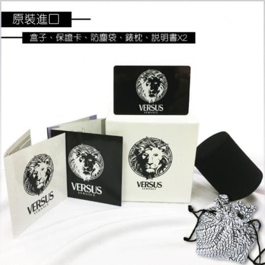 ★VERSUS By VERSACE★凡賽斯手錶SGV04-親膚輕軟橡膠錶帶-錶現精品-原廠正貨