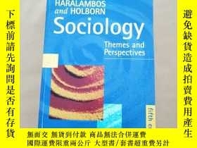 二手書博民逛書店Sociology罕見Themes and Perspecive